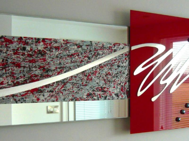 Multi Layered Wall Art